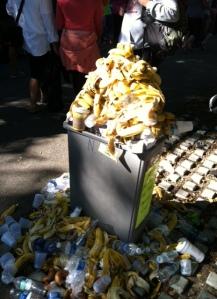 Banana graveyard.